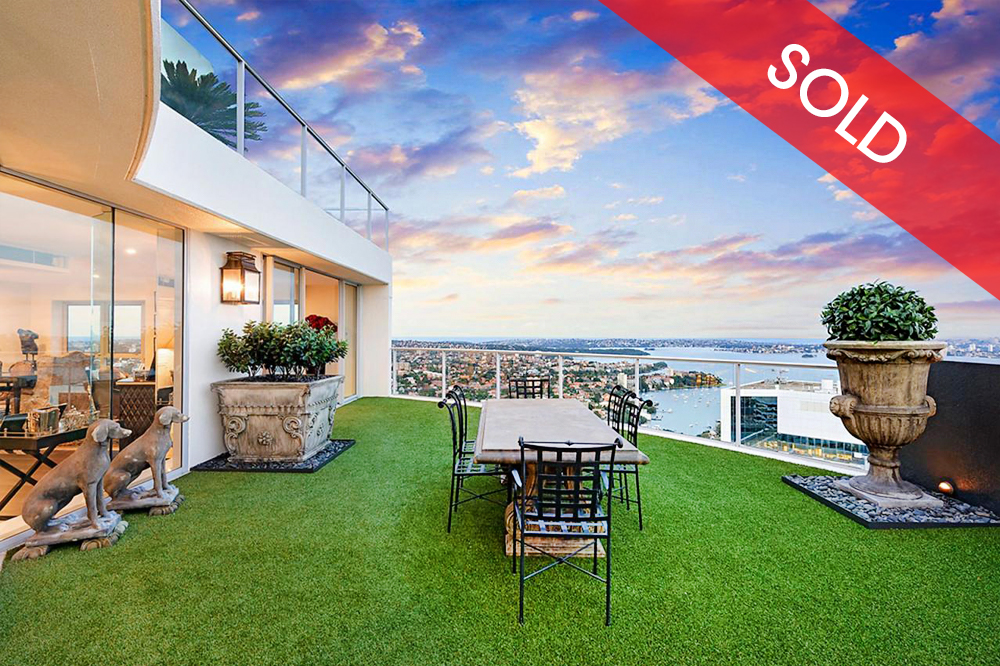 Sold - 3502/79-81 Berry Street, North Sydney