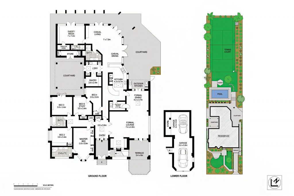 Floor Plan - 59 Arnold Street, Killara